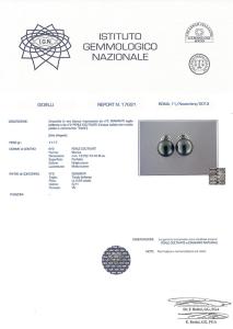 Certificato Perle