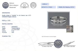 Certificato Gioiello Piccolo
